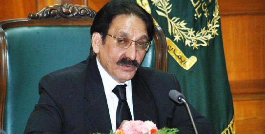 Chief Justice Iftikhar Mohammad Chaudhry - File Photo