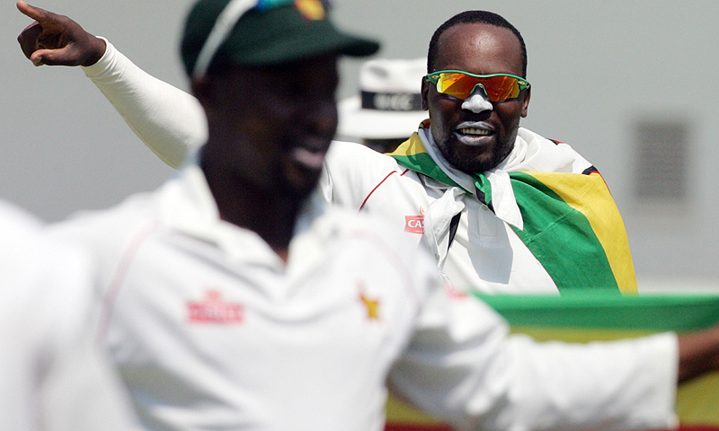 Zimbabwe had entered the series unranked and irrespective of the result of the series would have finished ninth on the table. -Photo by AFP