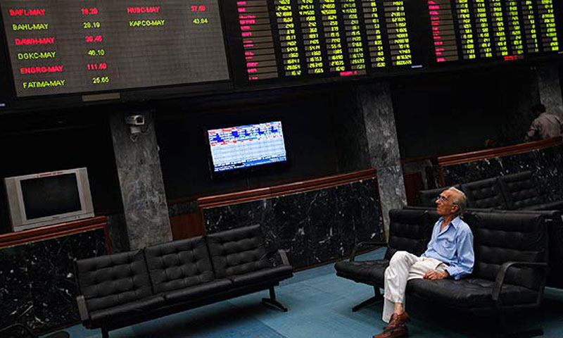 Several analysts' still in a dark mood on Saturday thought that the KSE-100 index could slip by 2-4 per cent next week, the highly leveraged companies in the textile and cement sector, perhaps taking the hardest beating. - File photo