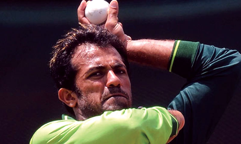Pakistan's new lefty arsenal: Wahab Riaz