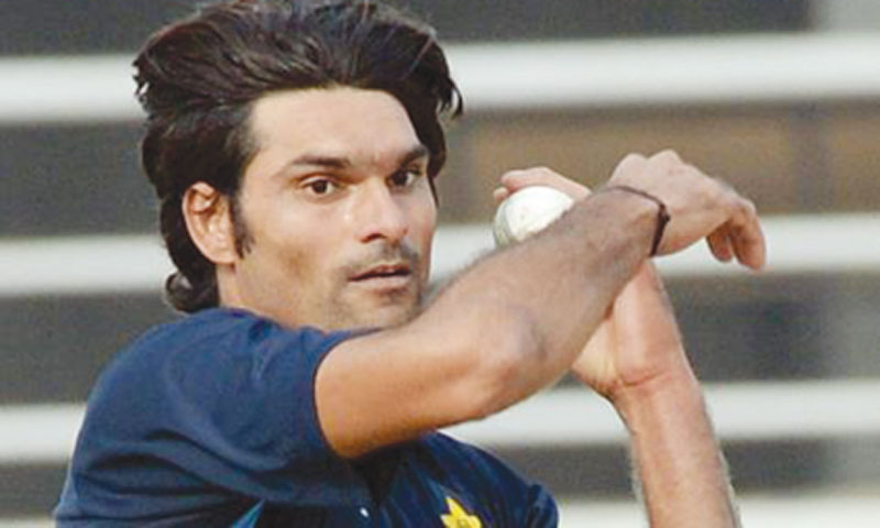 Pakistan's new lefty arsenal: Mohammad Irfan
