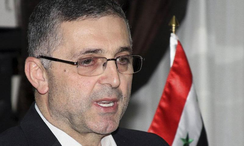Syrian Minister of State for National Reconciliation Ali Haidar. – File Photo by AP