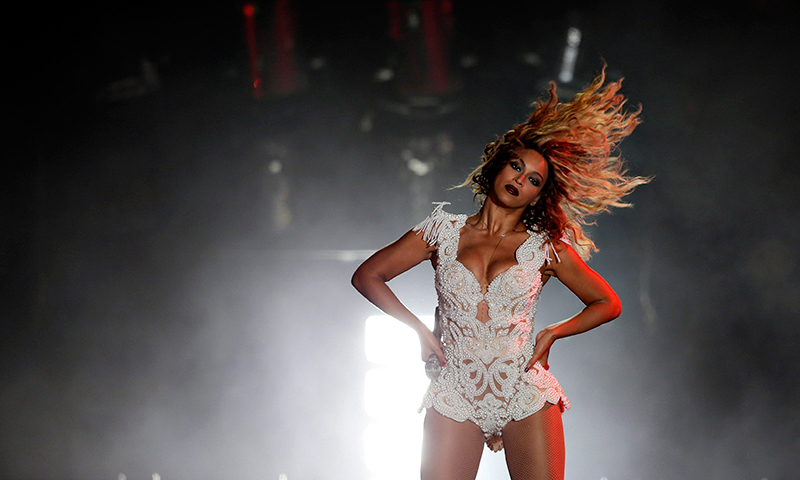 Singer Beyonce performs at the Rock in Rio Music Festival in Rio de Janeiro early September 14, 2013. - Photo by Reuters