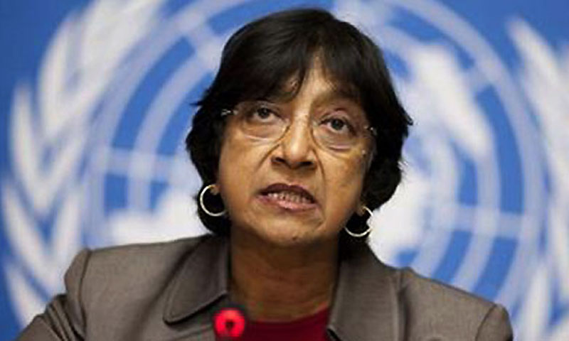 UN Human Rights Chief Navi Pillay. — File photo