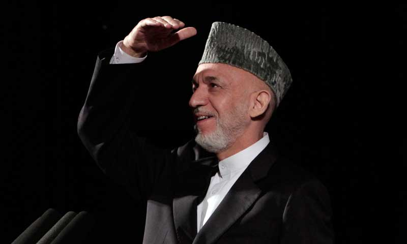 Afghan President Hamid Karzai. — Photo by AP
