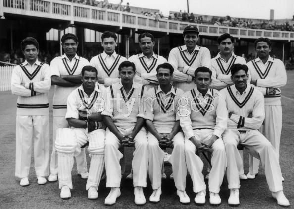 Pakistan team in England in 1954. Though under Kardar it was hailed as the most promising new side in the world, the team also suffered from 'growing class tensions'.