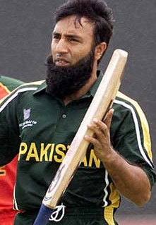 Saeed Anwar during the 2002 World Cup in South Africa.