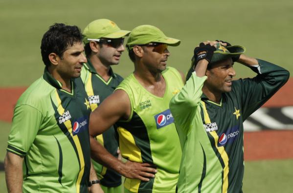 Not Inzi's men: Misbah, Ajmal, Shoaib Akhtar and Younis.