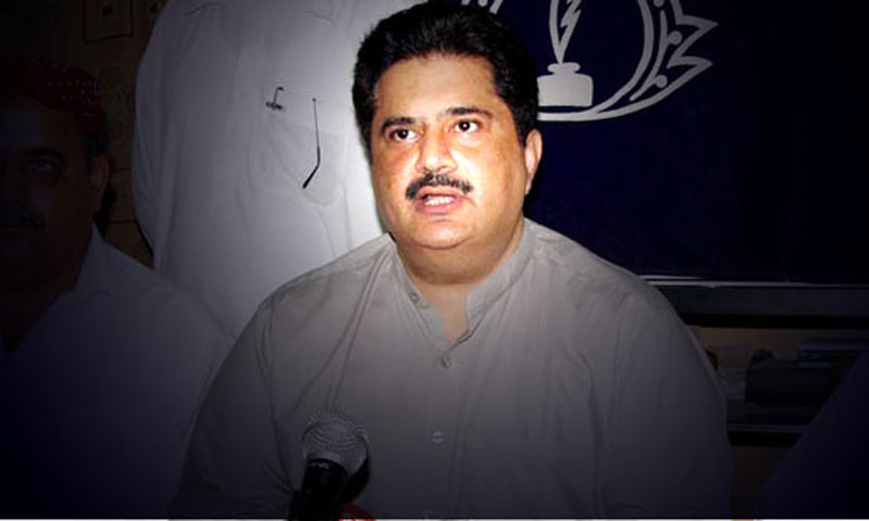 Muttahida Qaumi Movement (MQM) leader Nabeel Gabol was named in the murder case of proscribed People's Amn Committee leader Zafar Baloch on Friday. – File Photo