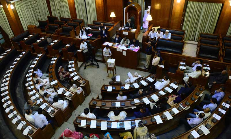 A view of the Sindh Assembly. — File photo