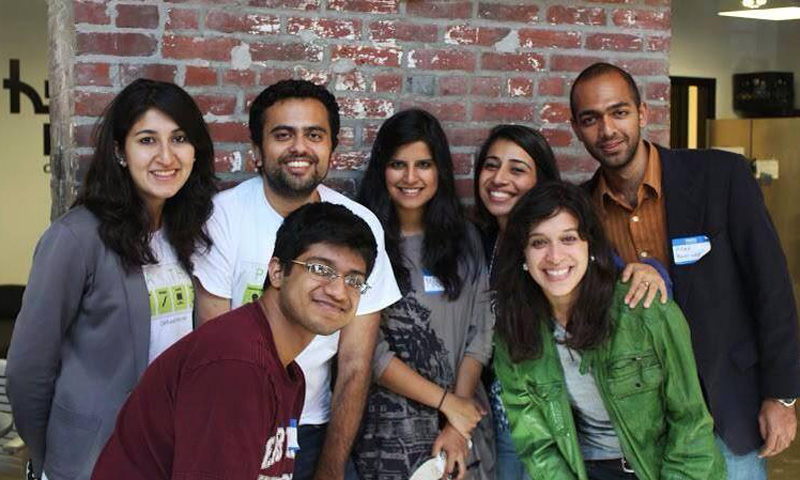 The Pakathon team pictured. — Courtesy Photo