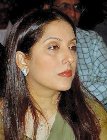 Samina Peerzada: Valiant effort.