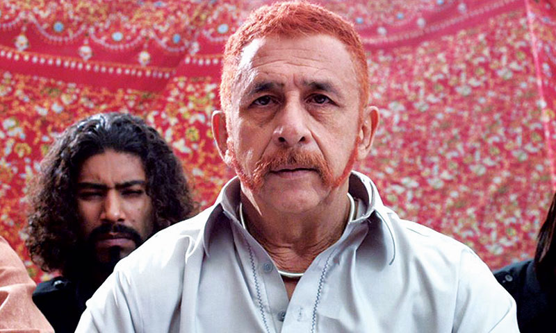 The great Naseerudin Shah as the soft-spoken thug.