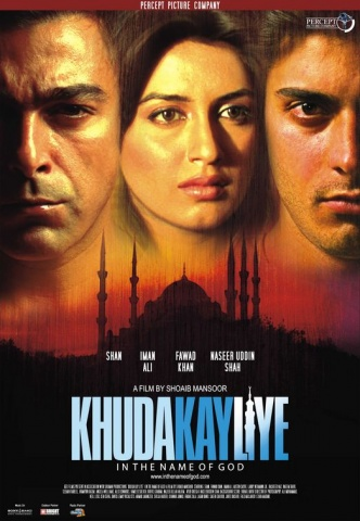Original poster of 'Khuda Kay Liye' (2007).