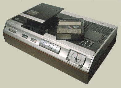 The 1980's machine of dreams: The VCR.