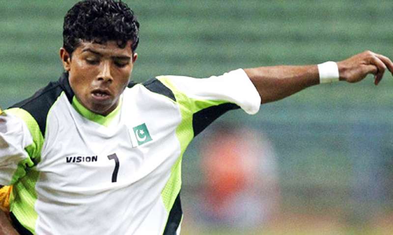 Mohammad Adil has modelled his game on Argentina's Carlos Tevez.