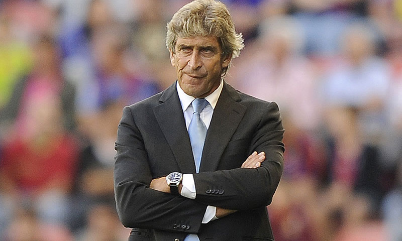 Manuel Pellegrini says he'll bring titles and style to City.