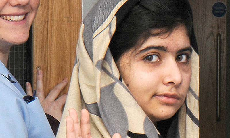 Malala Yousafzai. — File Photo
