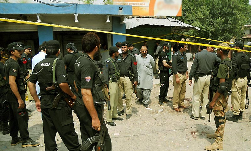 Sheraz Paracha, spokesman for the provincial chief minister, said the government was much concerned about the poor security situation in the provincial capital after the frequent terrorist attacks.  — File Photo by Online