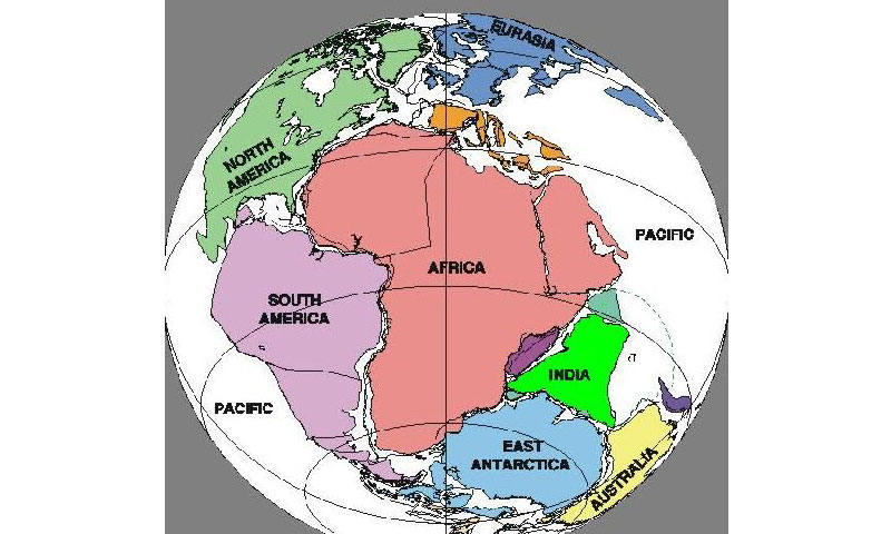 Continental drift pangaea the supercontinent newspaper dawn 0 gumiabroncs Gallery