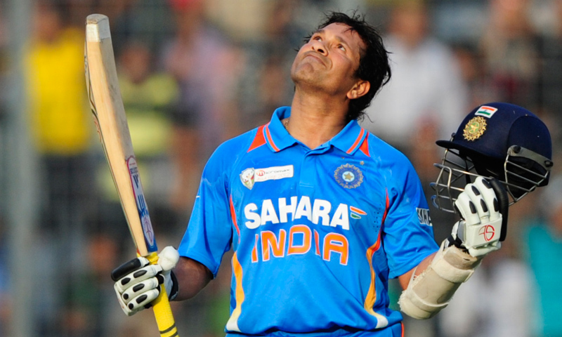 Tendulkar retired from ODIs in December last year. -Photo by AFP