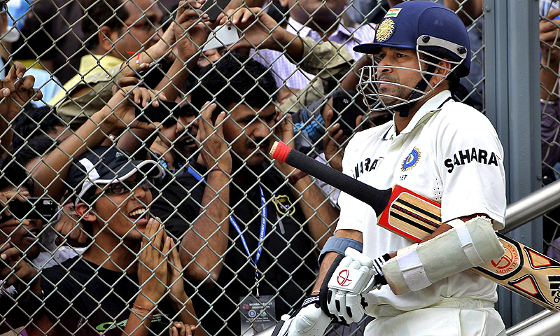 Tendulkar, who made his Test debut in 1989, said that he found it hard to imagine life without cricket. -Photo by AP
