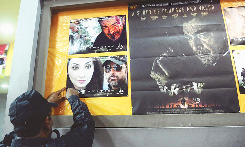 """We opened the advanced booking for Waar in Atrium just a day ago and already it has crossed a million rupees,"" owner of Atrium Cinema and film distributor Nadim Mandviwalla said. -Photo by White Star"