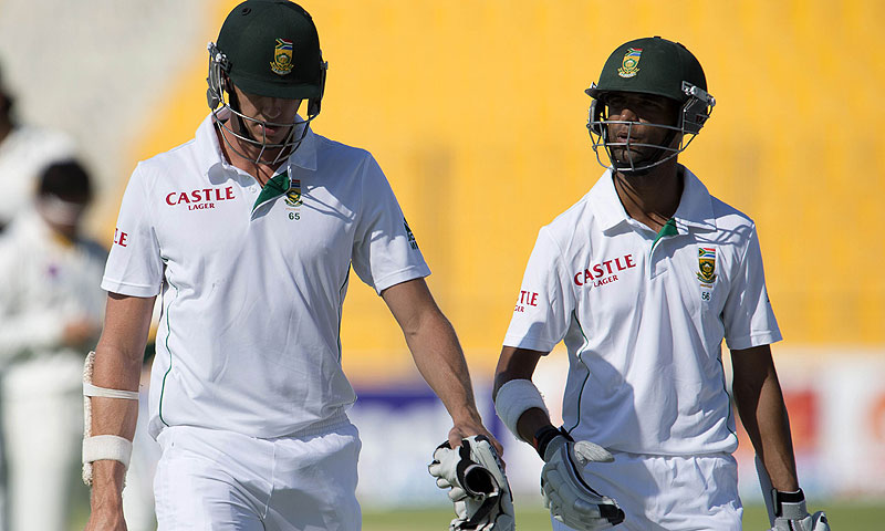 This was South Africa's fourth loss to Pakistan in 22 Tests. -Photo by AFP