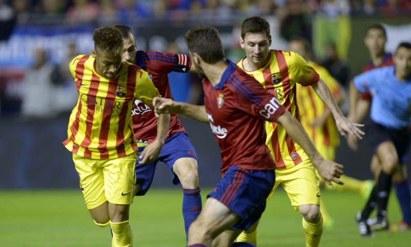 526392a882024 - Barca and Atletico fall one win shy of matching record