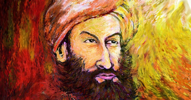 Mir Taqi Mir painting. - Courtesy Photo