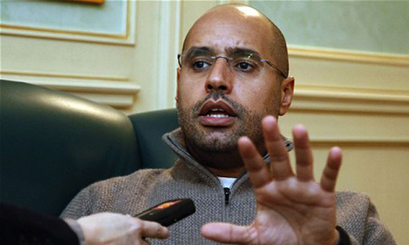 Saif al-Islam. — Photo by AFP