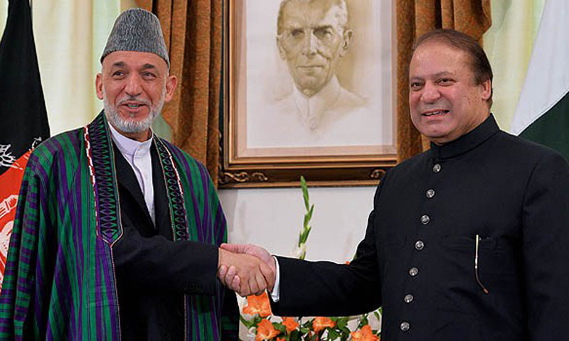 An Afghan official has said President Karzai would raise the issue when he meets PM Sharif in London next week for a summit. – File Photo by AFP