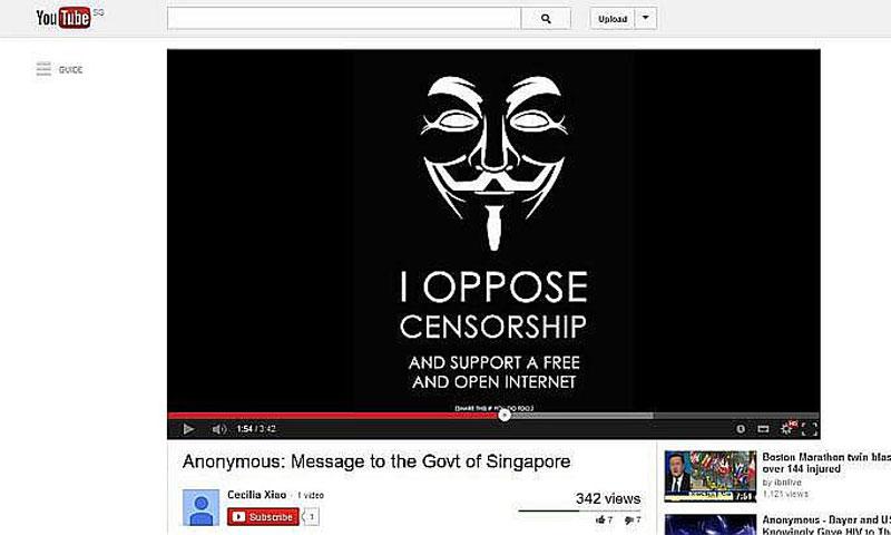 Hacker Calls Himself Messiah Warns Singapore Government World Dawn Com