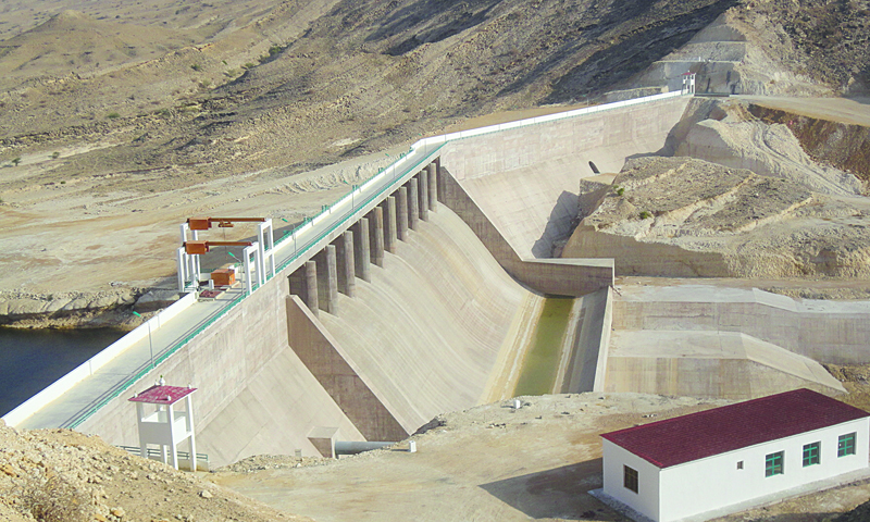 زیر تعمیر ڈیم — فائل فوٹو