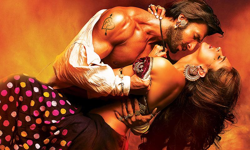 'Ramleela' movie poster. - Courtesy Photo