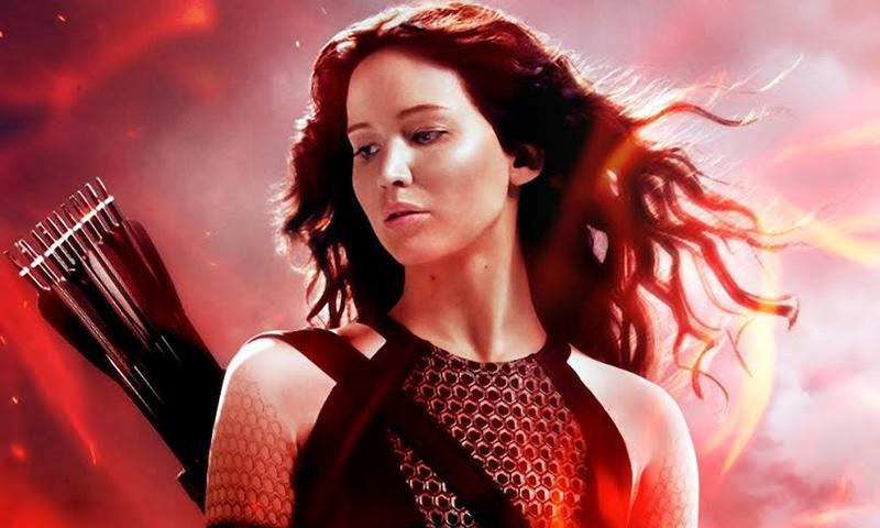 """""""The Hunger Games: Catching Fire"""" movie poster. - Courtesy Photo"""