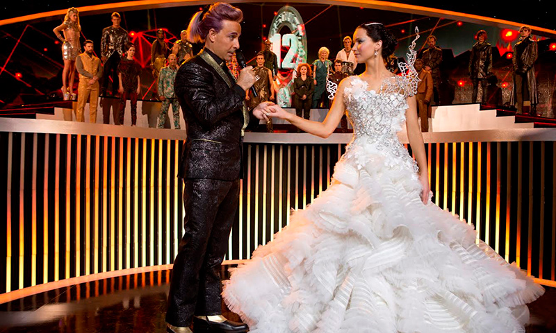 """A scene from movie, """"The Hunger Games: Catching Fire"""". - Courtesy Photo"""""""