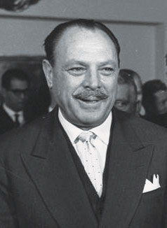 Ayub Khan sporting his fancy chevron mooch.