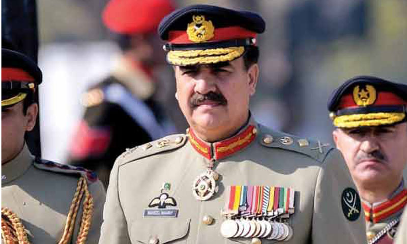 Despite showing support for the govt's peace talks' initiative with Taliban, Army Chief Gen Raheel Sharif Saturday said that terrorist attacks will not be tolerated. – File Photo
