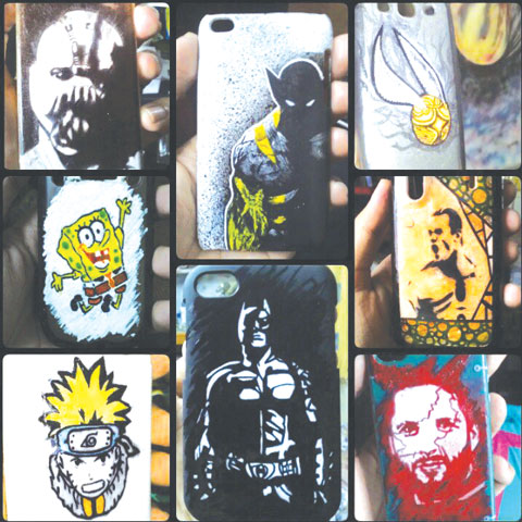 Custom mobile phone covers.