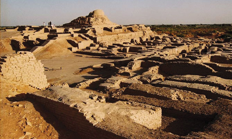 The ruins of Mohenjodaro.