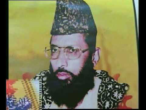 Haq Nawaz Jhangvi, the founding member of the militant anti-Shia SSP. He was assassinated in 1990.