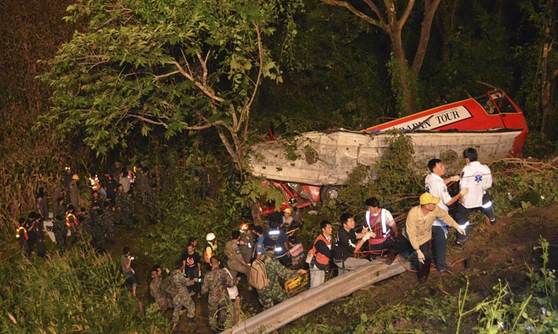 At least 29 killed in Thailand bus accident: police - World - DAWN COM