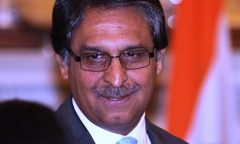 File Photo. Jalil Abbas Jilani, Pakistan's new ambassador to Washington.