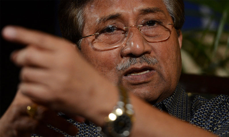 Former military ruler Pervez Musharraf. — File photo