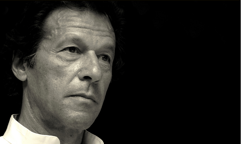 Imran Khan, Herald Person of the Year 2013. — Photo by Mobeen Ansari