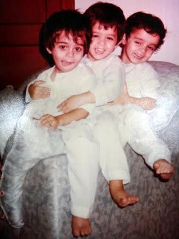 Sara, Ahsan and Ali. —Courtesy Photo