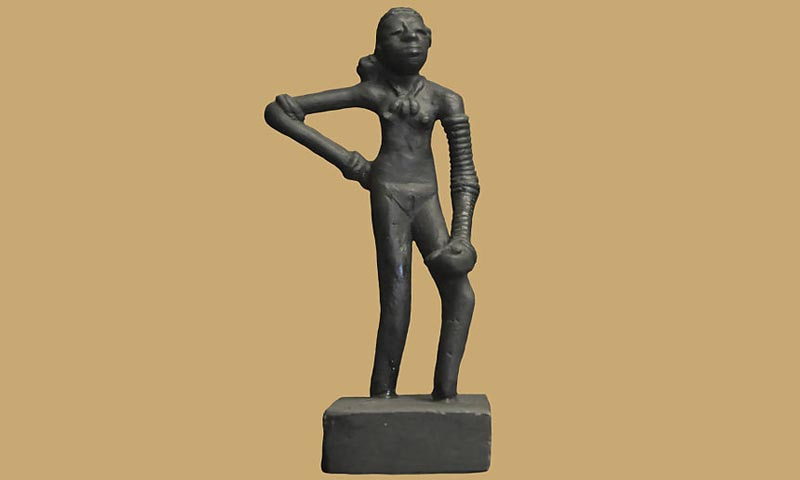 A photo of a replica of the Dancing Girl— File Photo courtesy of creative commons