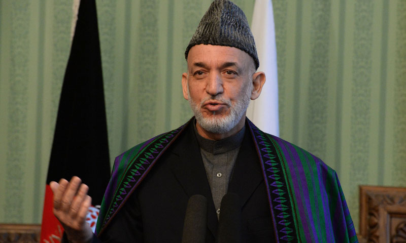 Afghanistan's President Hamid Karzai. — File photo