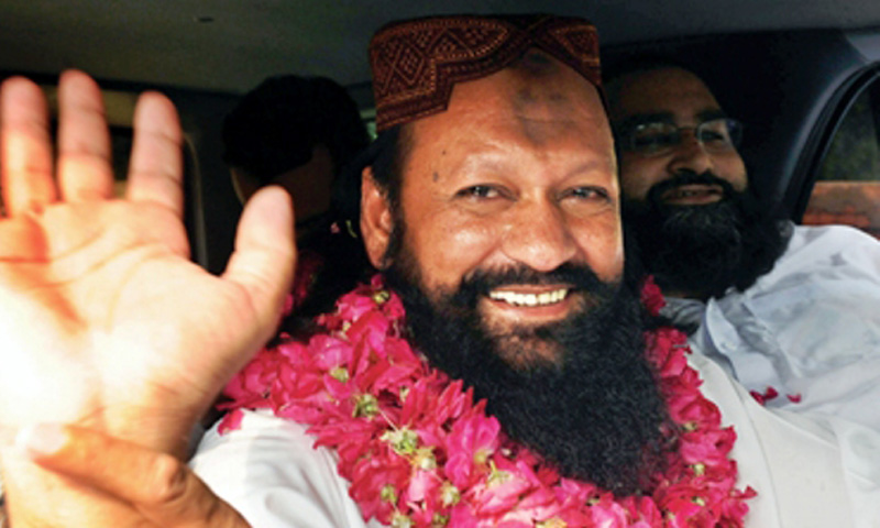 Lashkar-i-Jhangvi chief Malik Ishaq. – File Photo